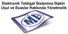 Elektronik Tebligat Sistemine İlişkin Usul ve Esaslar Hakkında Yönetmelik