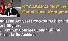 Kocasakal'ın İstanbul Barosu Genel Kurul konuşmasında dikkat çekenler