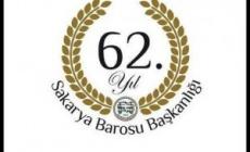 Sakarya Barosu 62. Kuruluş Yıldönümünü Kutluyor
