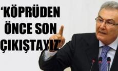 Deniz Baykal: Erdoğan ve AKP korkuyor