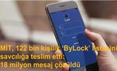 MİT, 122 bin kişilik 'ByLock' listesini savcılığa teslim etti: 18 milyon mesaj çözüldü