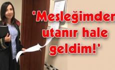 Duruşmaya geç kalan avukat, meslektaşına isyan etti