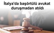 İtalya'da başörtülü avukat duruşmadan atıldı