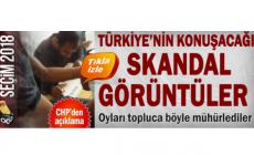 Türkiye'nin konuşacağı skandal görüntüler