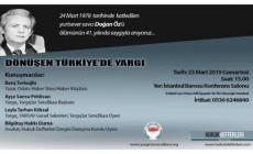 """""""Dönüşen Türkiye'de Yargı"""""""
