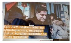 Eski AYM Başkanı Kılıç: Bu arkadaşlarımız, ne pozitif hukuk kuralları bıraktılar ne ahlak bıraktılar
