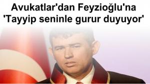METİN FEYZİOĞLU'NDAN PROTESTOCUYA DEMOKRASİ DERSİ