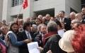 İstanbul Barosu Duruşması Silivri Adliyesi Önü Ümit Kocasakal Basın Açıklaması