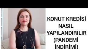 KONUT KREDİSİ NASIL YAPILANDIRILIR (Pandemi indirimi) / Avukat Aysel Aba Kesici